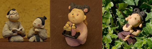 陶人形作品